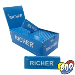 richer papel blanco 1 1/4 fumar