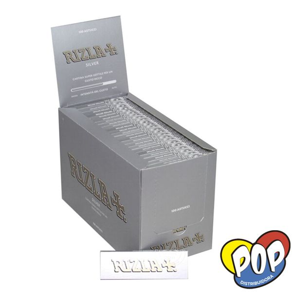 rizla papel silver regular 100 para fumar