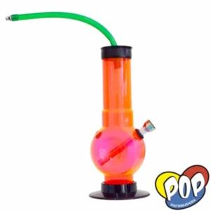 bong acrilico con manguera para fumar