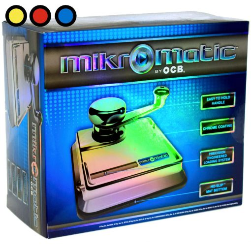 maquina ocb mikromatic para rellenar tubos