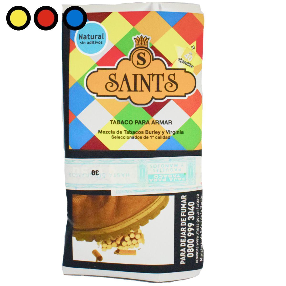 tabaco saints natural 30gr