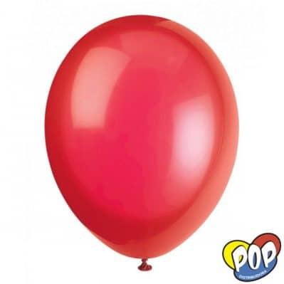 fiesta loca globo 9 rojo precios