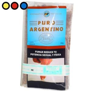 puro argentino vainilla 30 precio por mayor