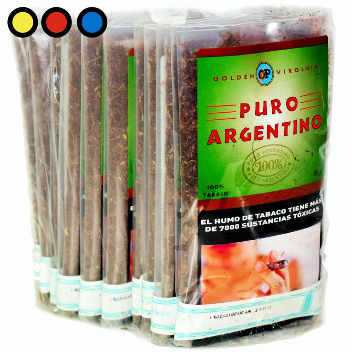 puro argentino virginia 30 gramos