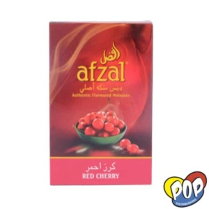 tabaco afzal red cherry narguile precios