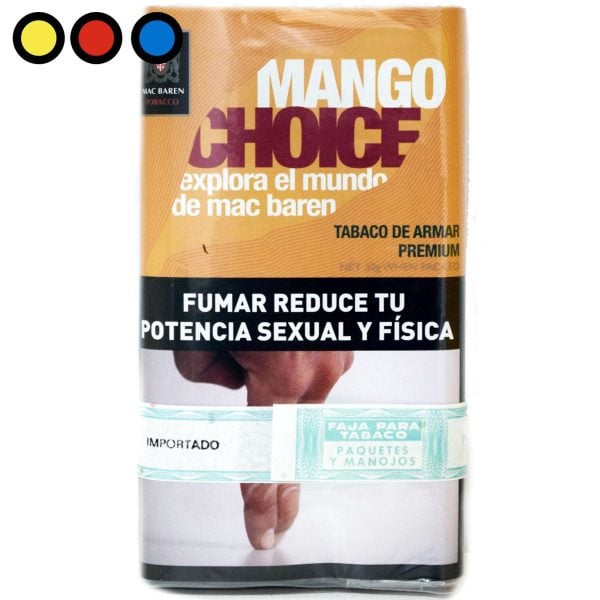 tabaco mac baren mango venta por mayor