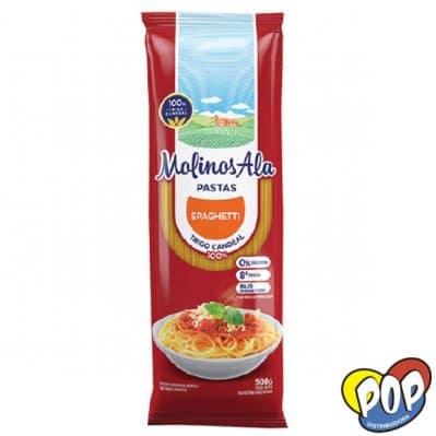 molinos ala spaghetti 500 fideos secos