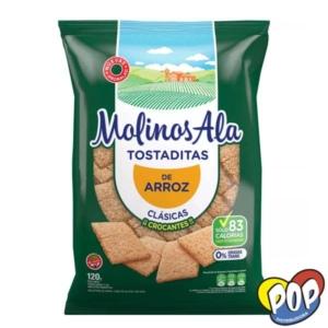 molinos ala tostada clasica 120gr
