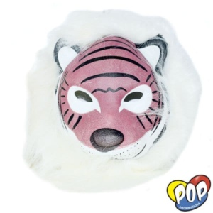 careta animalitos con pelo tigre