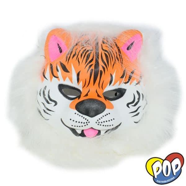 careta animalitos pelo tigre blanco
