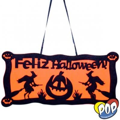 cartel halloween merlyn 50x25 venta