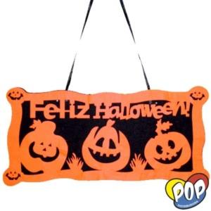 cartel halloween merlyn 50x25 mayorista precios