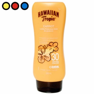 hawaiian tropic carrot spf240ml locion venta
