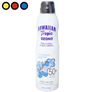 hawaiian tropic ozono spf50 aerosol 180ml precios