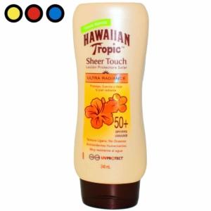 hawaiian tropic sheer touch spf 240ml venta por mayor