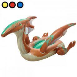 inflable dinosaurio pre historico pileta