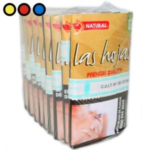 las hojas tabaco natural 15gr. precio mayorista