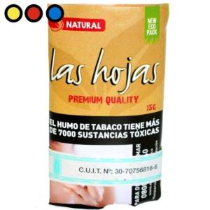 las hojas tabaco natural 15gr. venta online