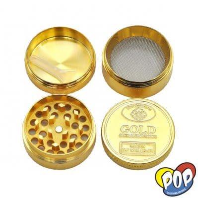 picador metal dorado 4 partes grow shop online