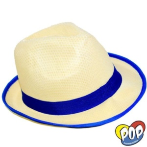 sombrero bahiano guardas fluo cotillon por mayor