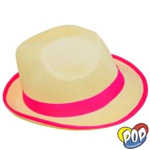 sombrero bahiano guardas fluo fucsia 1e141fc7285