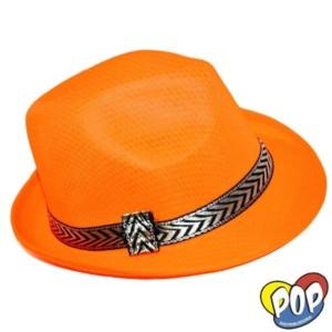 sombrero bahiano naranja por mayor