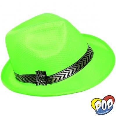 sombrero bahiano verde fluo precios