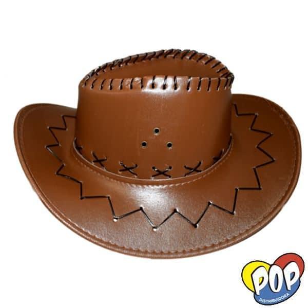 sombrero cowboy cuerina por mayor precios