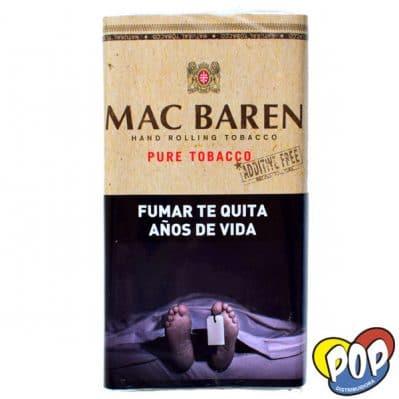 tabaco mac baren pure sin aditivos