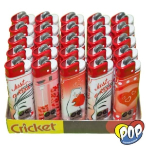 encendedor cricket love mayorista