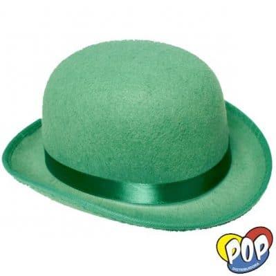 sombrero bombin verde precios