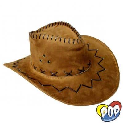 sombrero cowboy gamuza precios cotillon