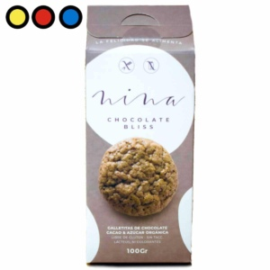 galletitas celiacos nina chocolate bliss