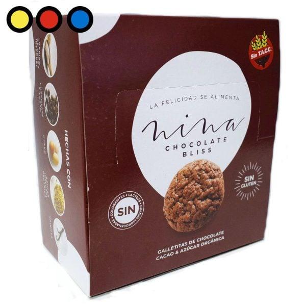 galletitas nina chocolate bliss precios