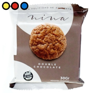 galletitas nina doble chocolate precios
