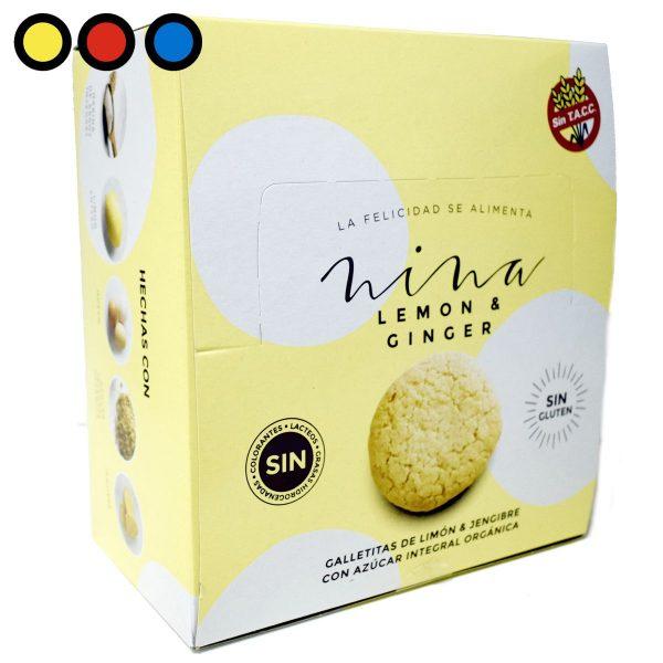 galletitas nina lemon ginger