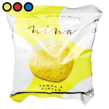 galletitas nina lemon ginger 30gr por mayor