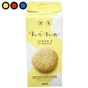 galletitas nina lemon ginger ventas precios
