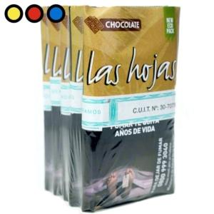 tabaco las hojas chocolate 15gr precios