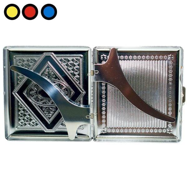 cigarrera de metal grabado venta online