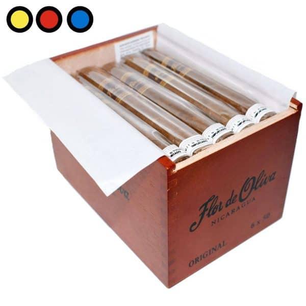 cigarro flor de oliva original 6x50 venta online