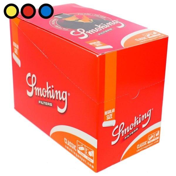 filtros smoking orange regular precios