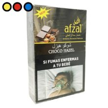 tabaco afzal narguile choco hazel