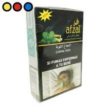 tabaco afzal narguile strong mint venta