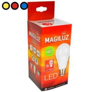 lampara led magiluz 12w mayorista precio