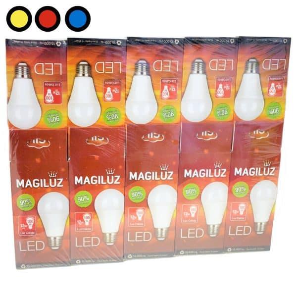 lampara led magiluz 12w calida precio mayorista