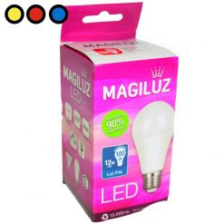 lampara led magiluz 12w fria mayorista
