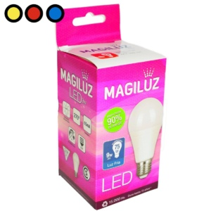 lampara led magiluz 9w fria mayorista
