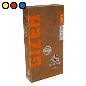 papel gizeh pure extra fine tabaco