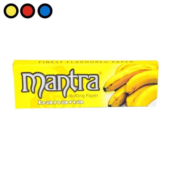 papel mantra banana oferta